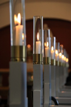 Funeral or memorial service at the danishlutheran church of vancouver